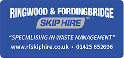 Ringwood and Fordingbridge Skip Hire Logo